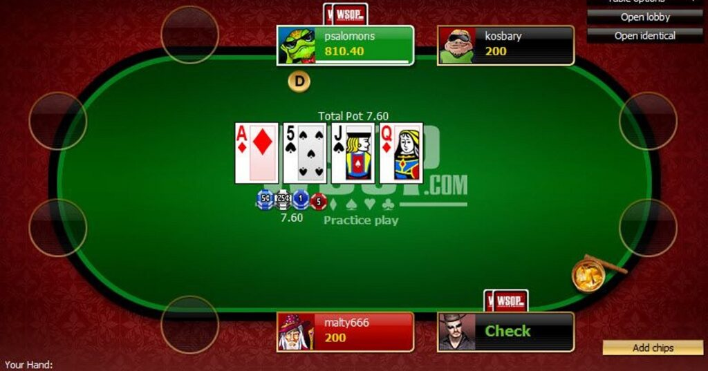 Playing Video Poker